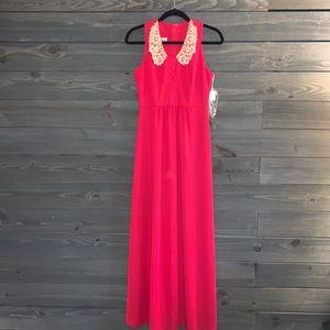 Vintage Patricia Fair 1970s Holiday Dress